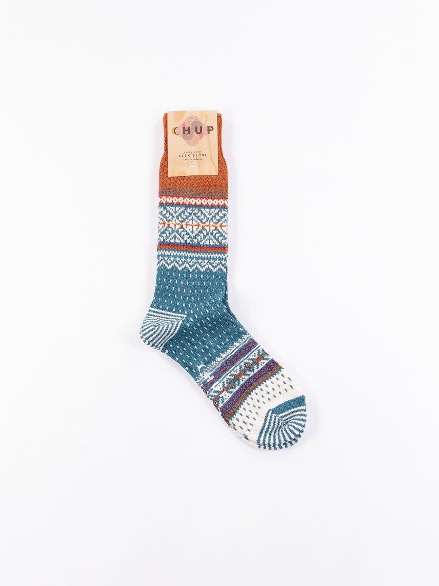 Teal Genser Socks