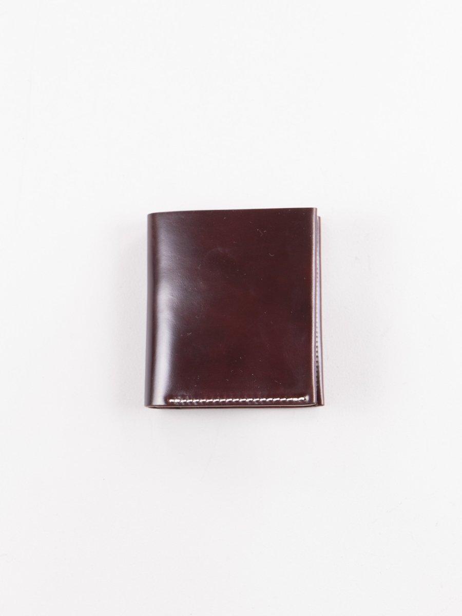 Cognac Horween Cordovan 3–3 Wallet