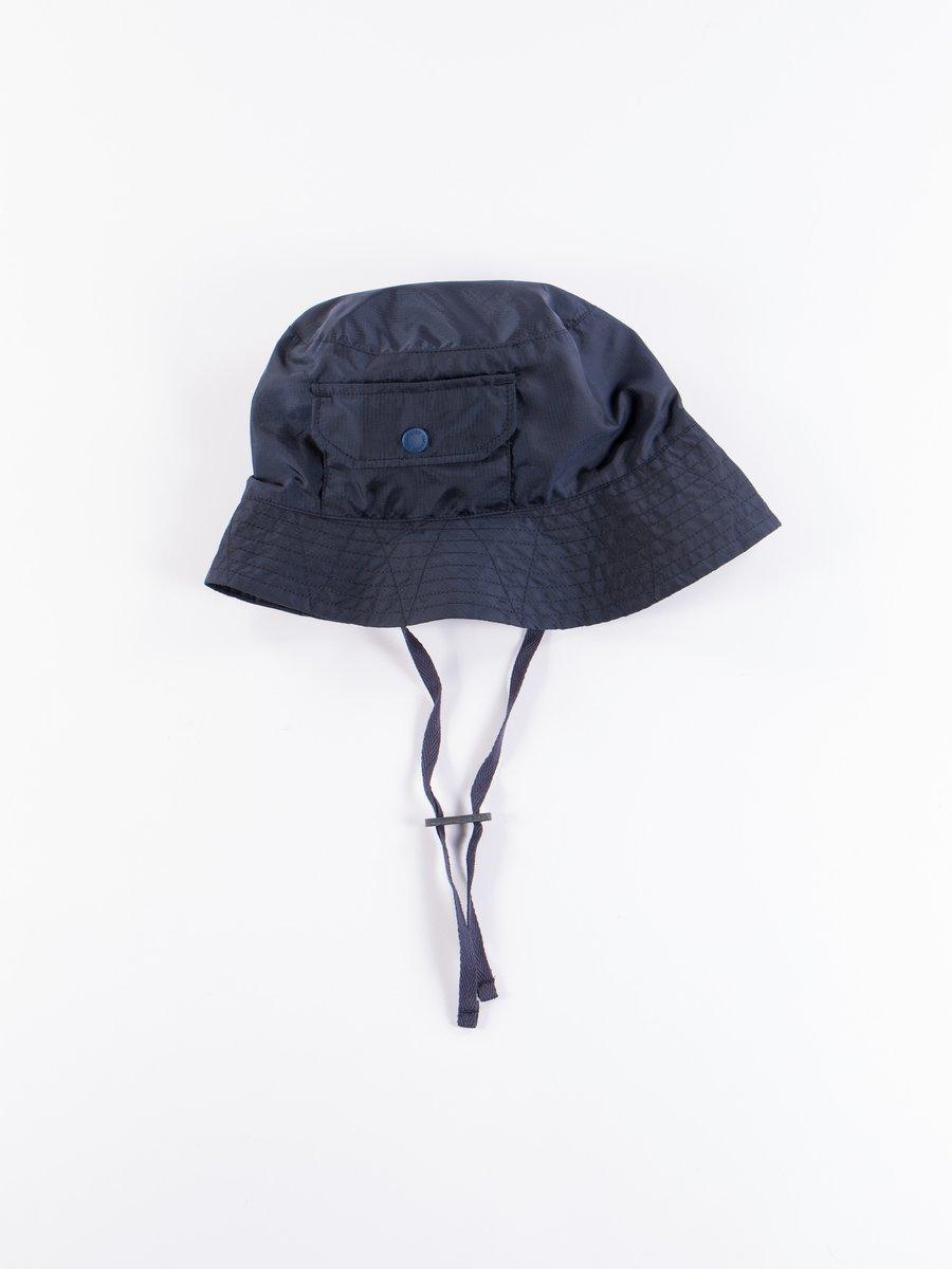 Navy Nylon Micro Ripstop Explorer Hat