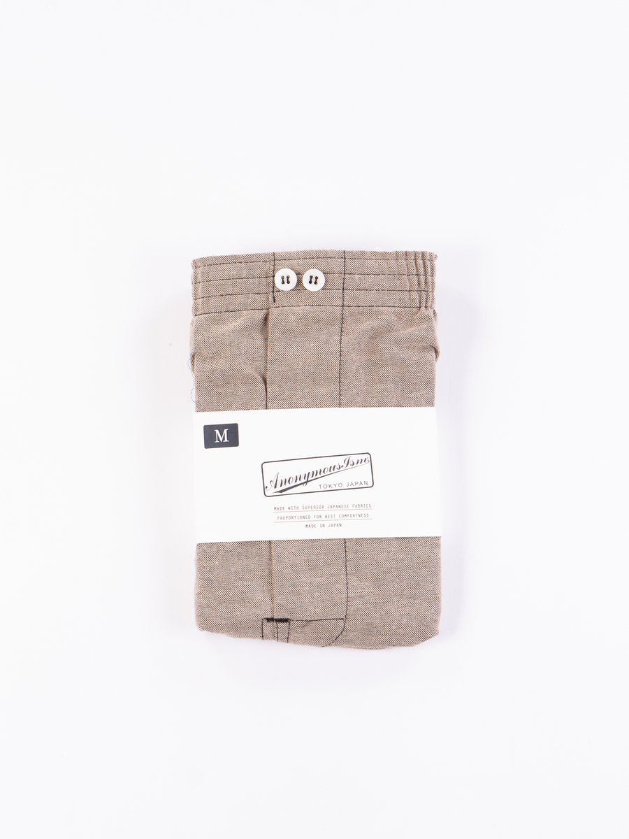 Brown Oxford Vintage Boxer Short
