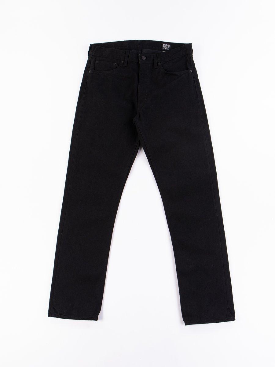 Black Denim 107 Slim Fit Jean