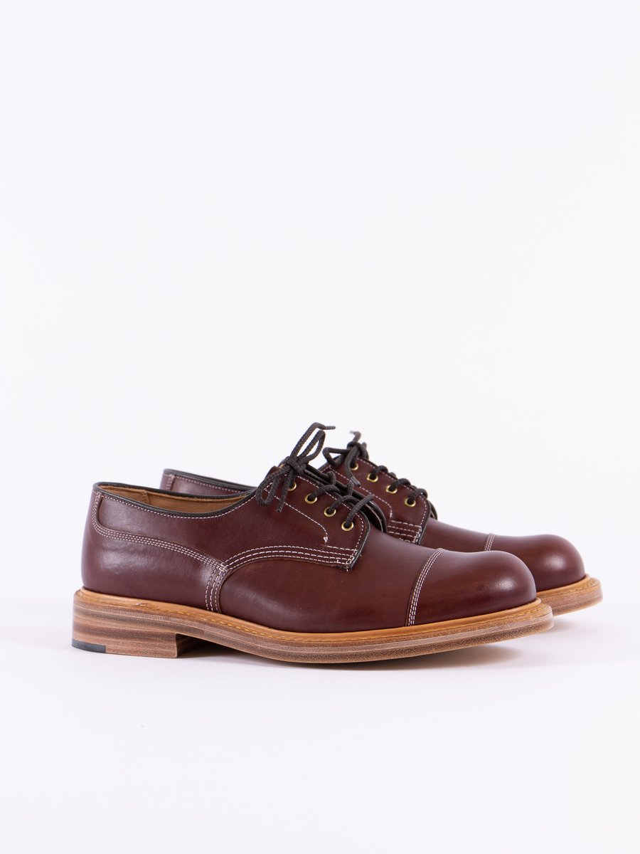 Burgundy Burnished TBB Service Shoe
