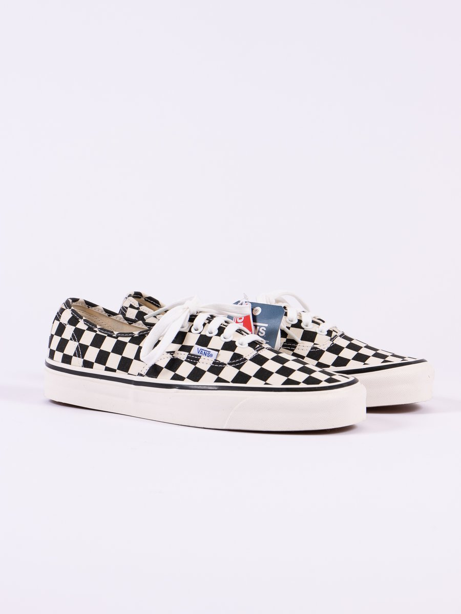 OG Black/White Checkerboard Anaheim Factory Authentic 44 DX