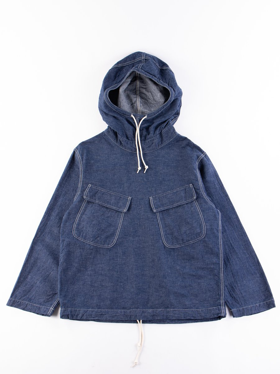One Wash US Navy Salvage Hooded Parka