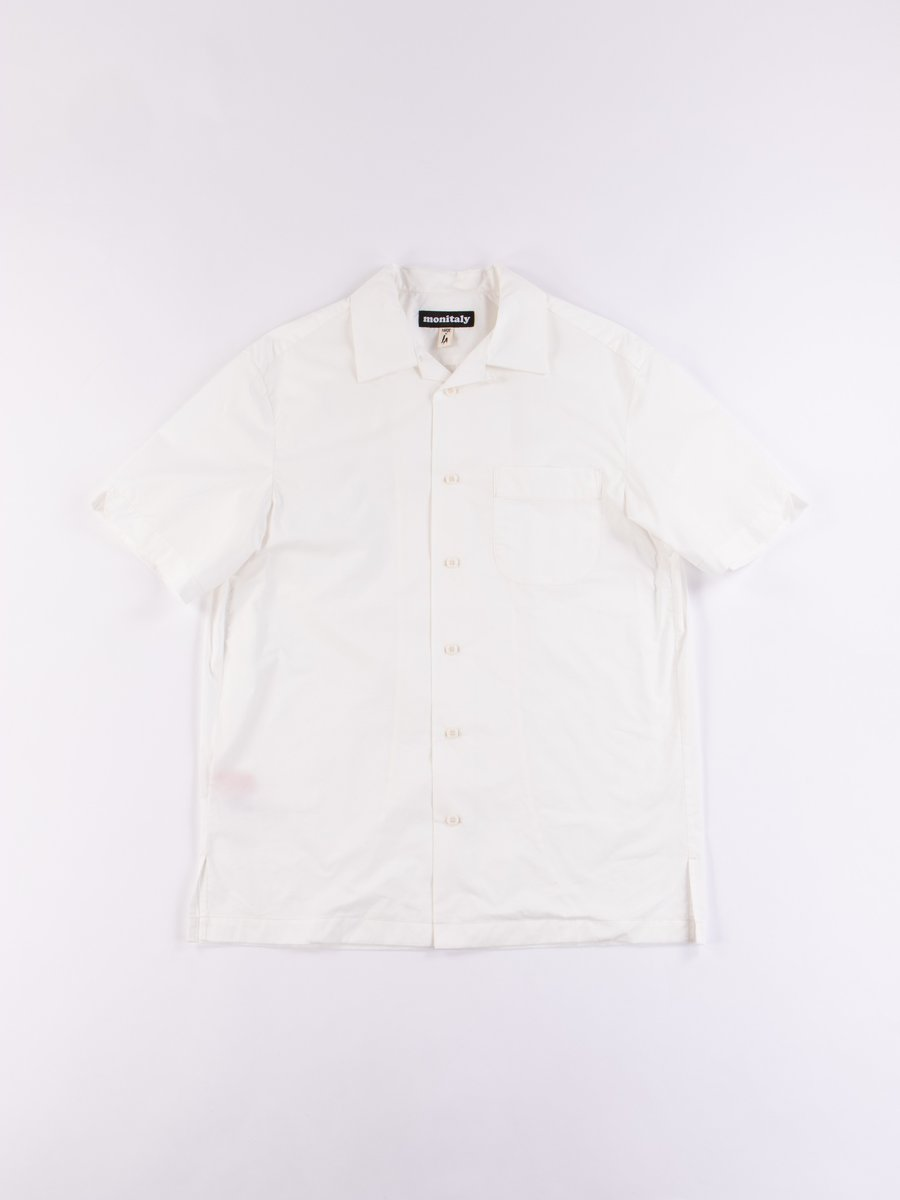 White Light Poplin Weekend Shirt