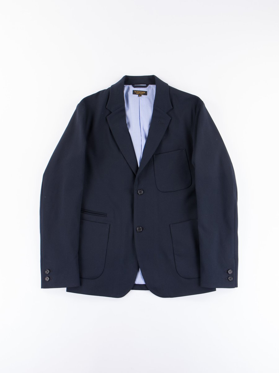 Dark Navy Lounge Jacket