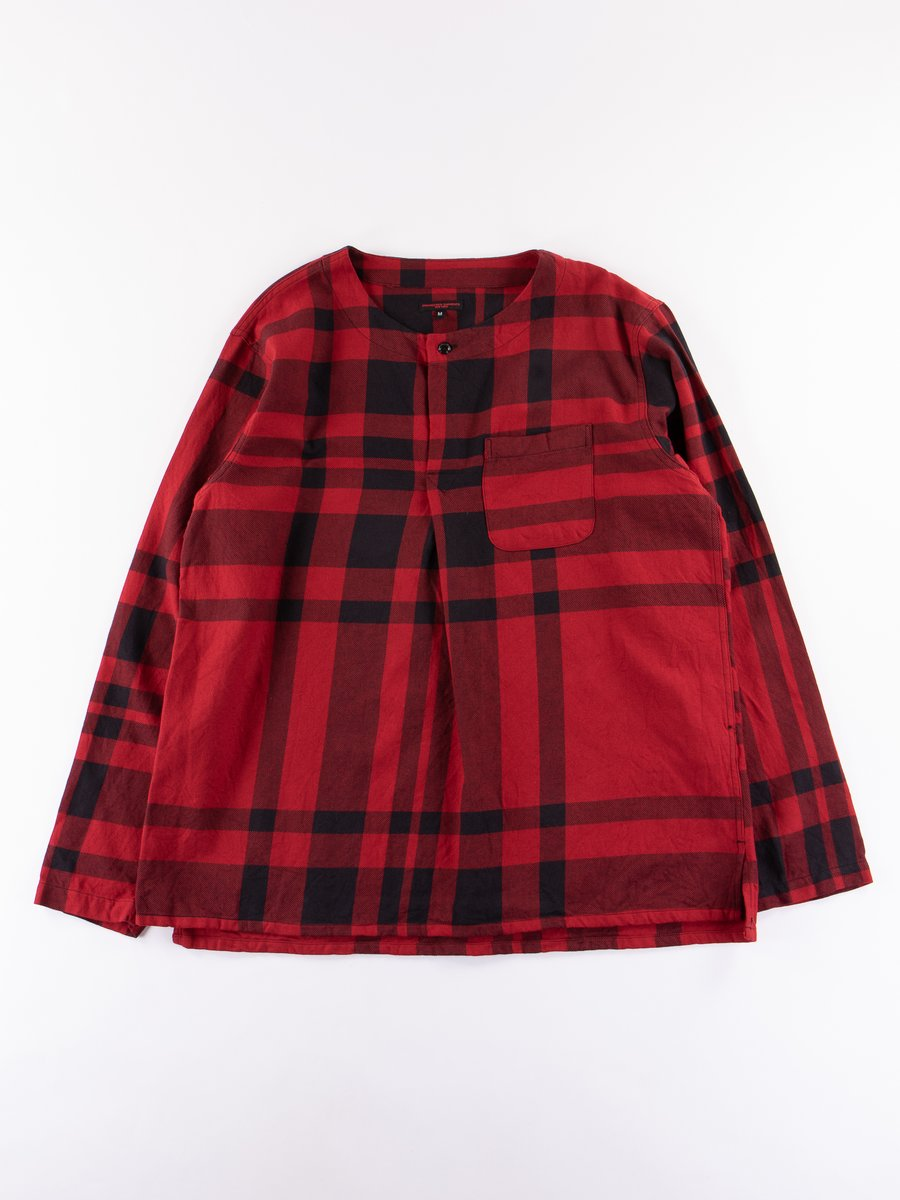 Red/Black Big Plaid MED Shirt