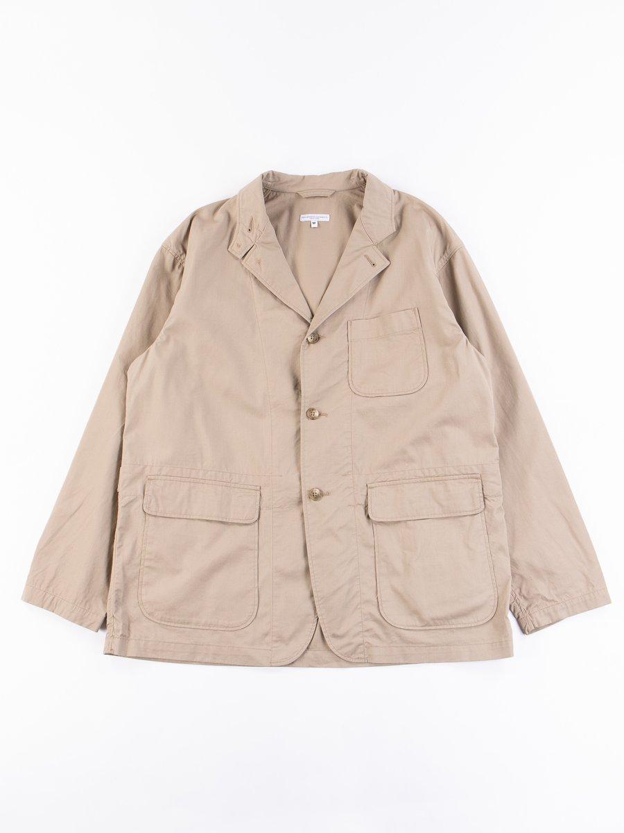 Khaki Highcount Twill Loiter Jacket