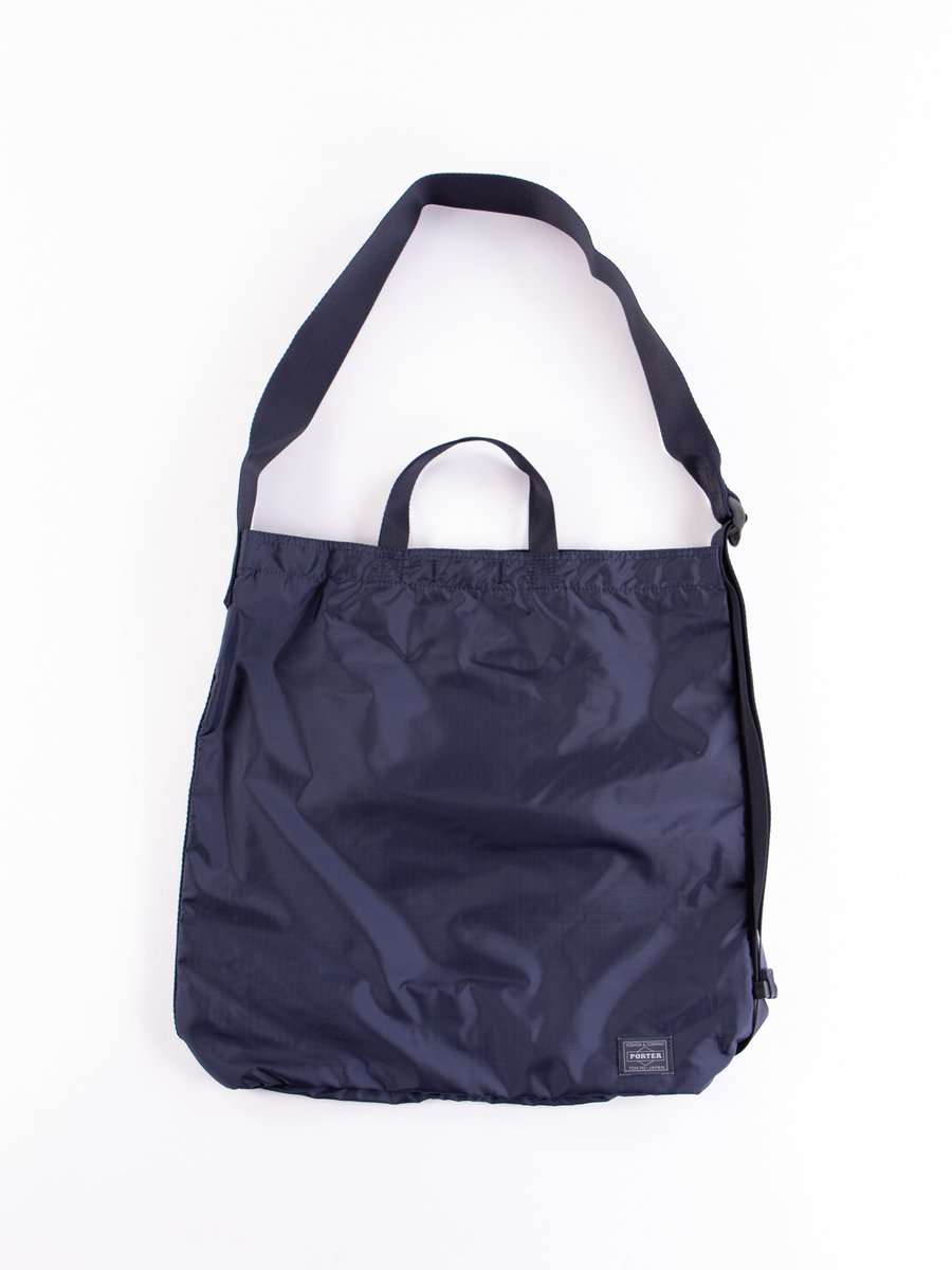 Navy Flex 2Way Shoulder Bag