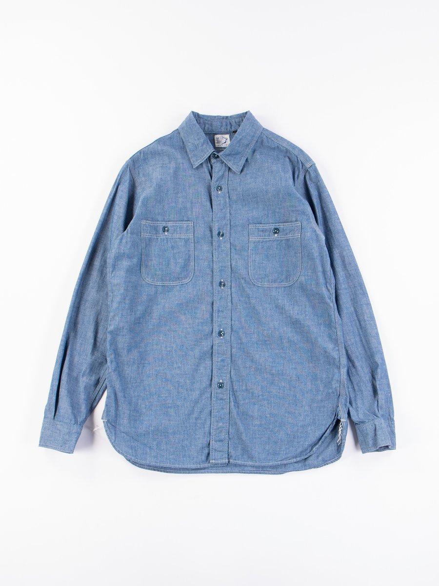 Blue Chambray Work Shirt