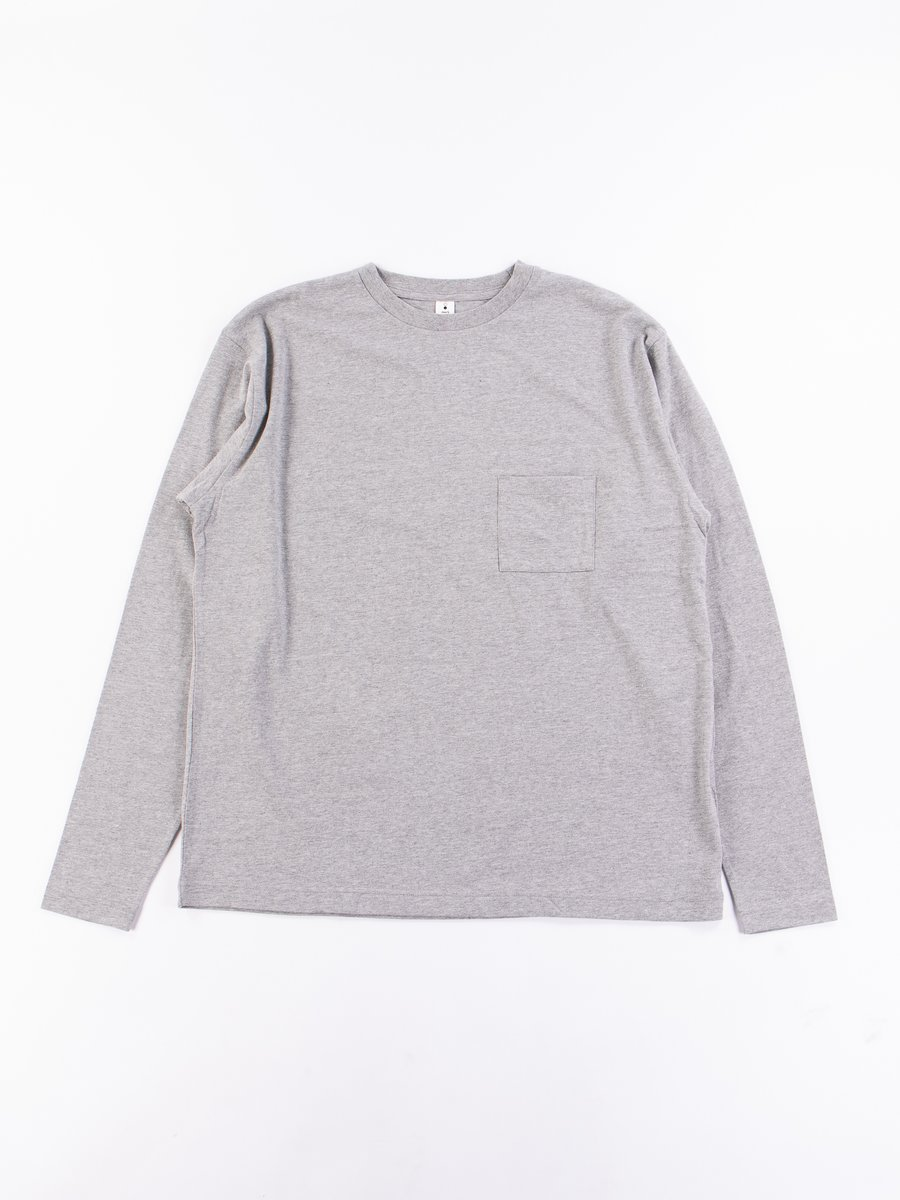GR7 L/S Crew Neck Pocket Tee