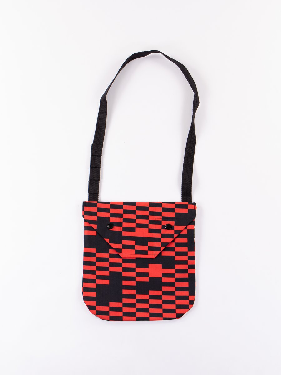 Red/Black Noma t.d. Shoulder Pouch