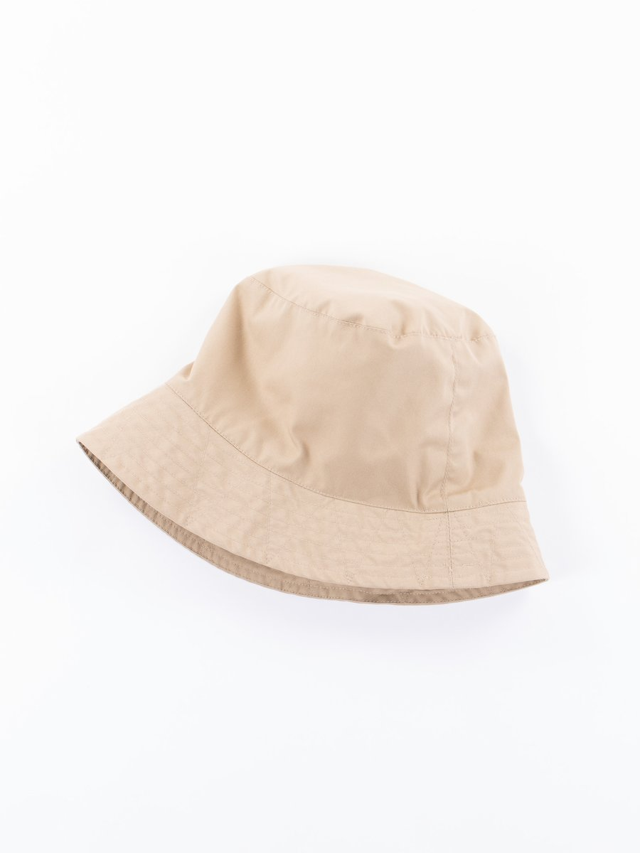 Khaki PC Poplin Bucket Hat