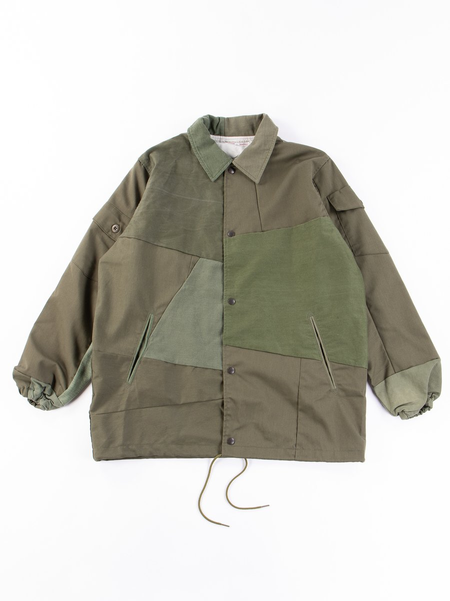 Olive Rebuild T/C Fatigue Coach Jacket