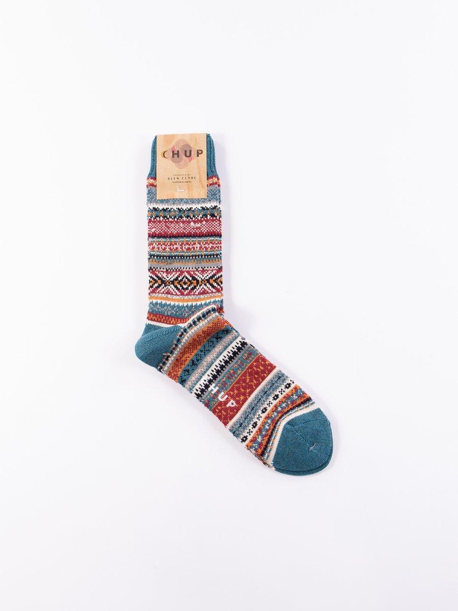 Teal Aistear Socks