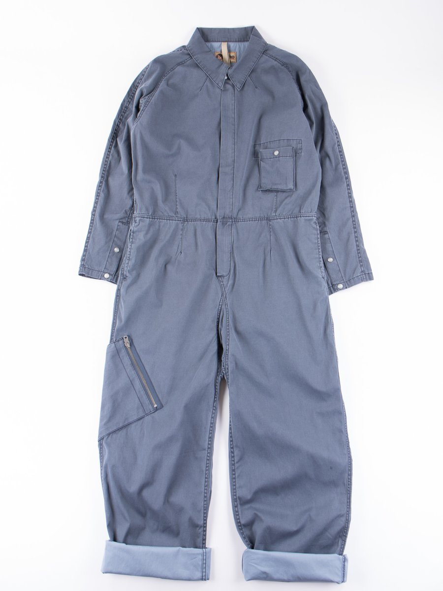 Lybro Washed Blue Australian Coverall