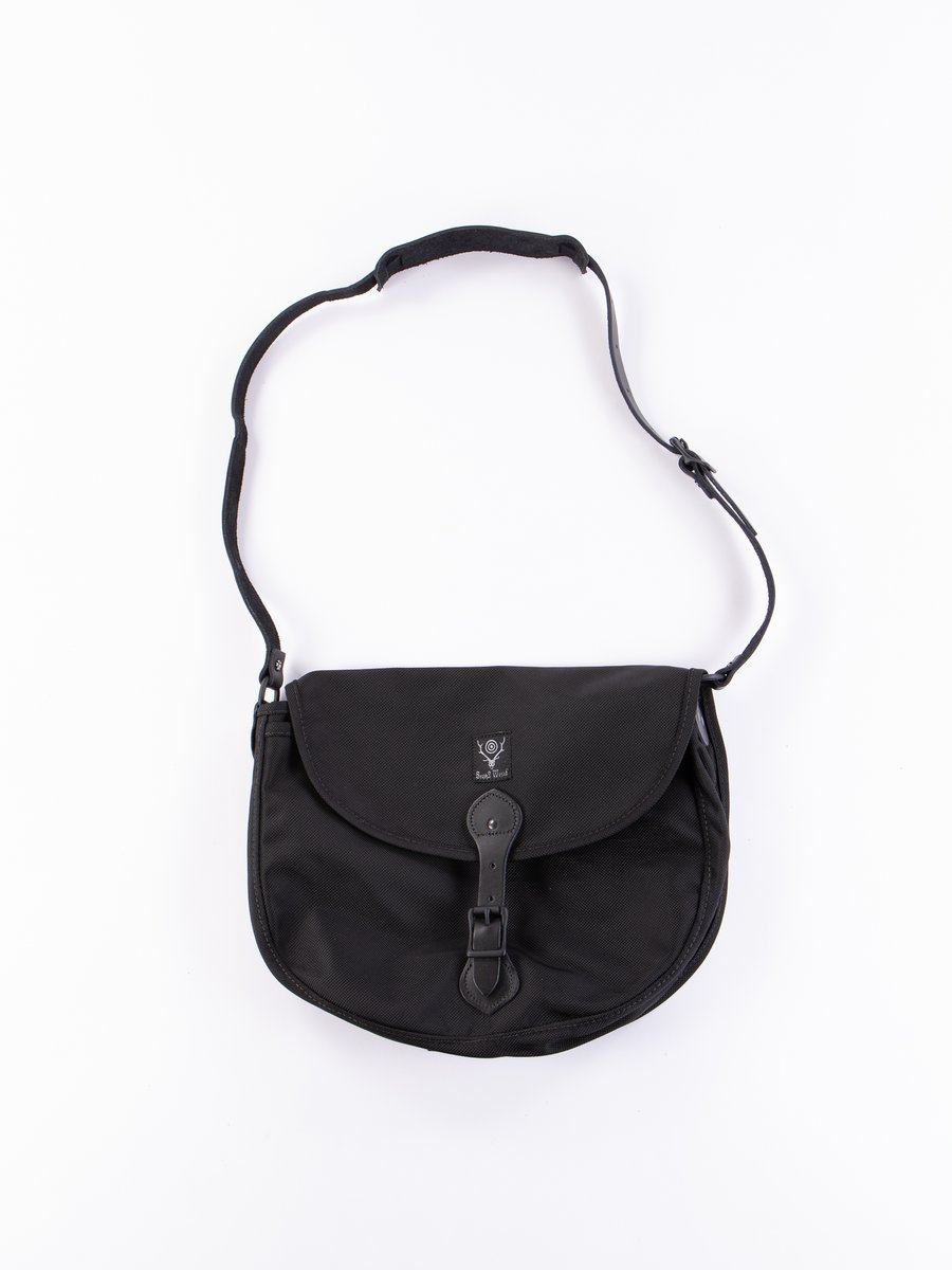 Black Large Ballistic Nylon Binocular Bag