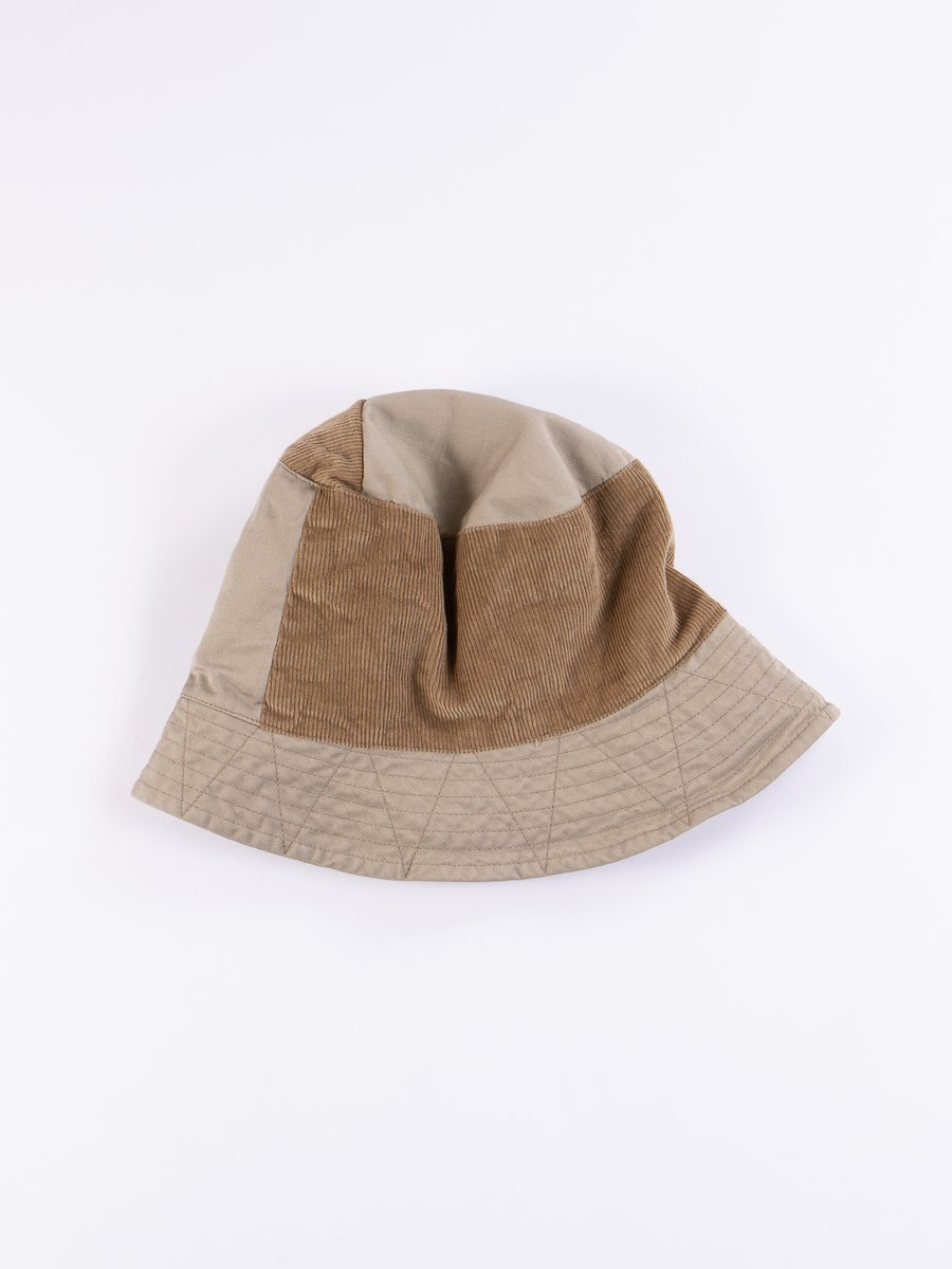 Khaki 6.5oz Flat Twill Bucket Hat