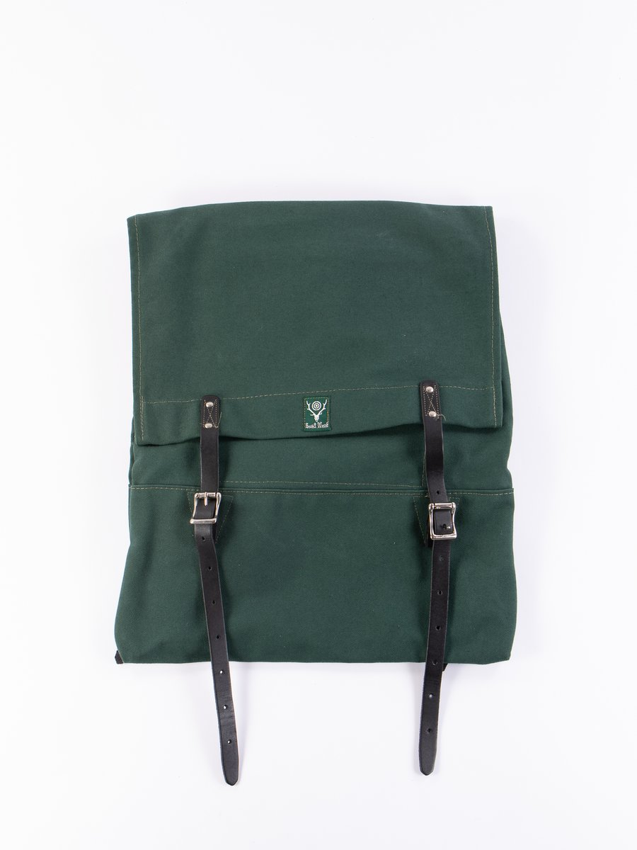 Hunter Green 18oz Canvas Trek Pack
