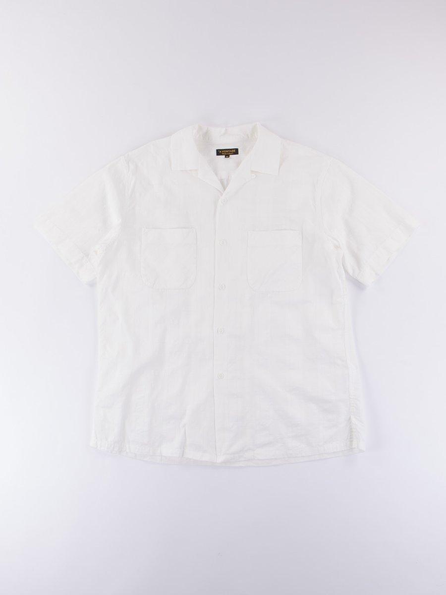 White Open SS Shirt