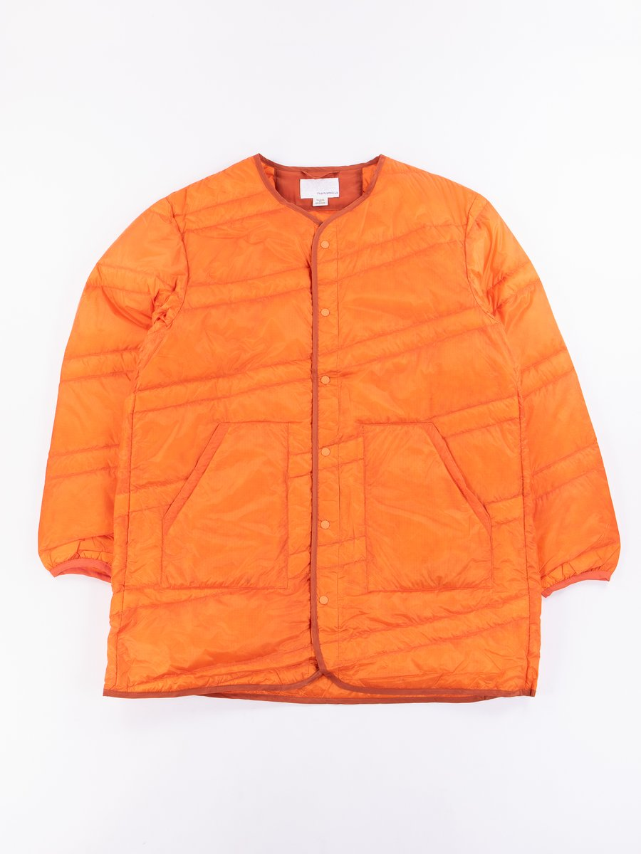 Orange Down Coat