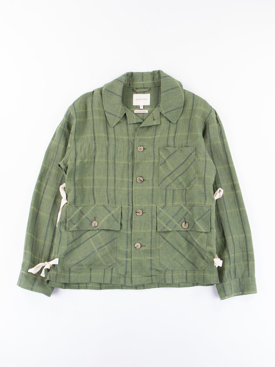 Green Check Factory Jacket