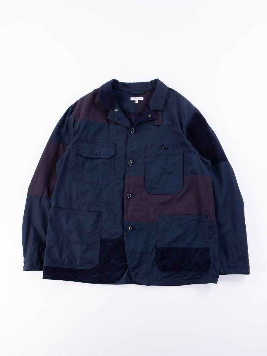 Navy 6.5oz Flat Twill Logger Jacket