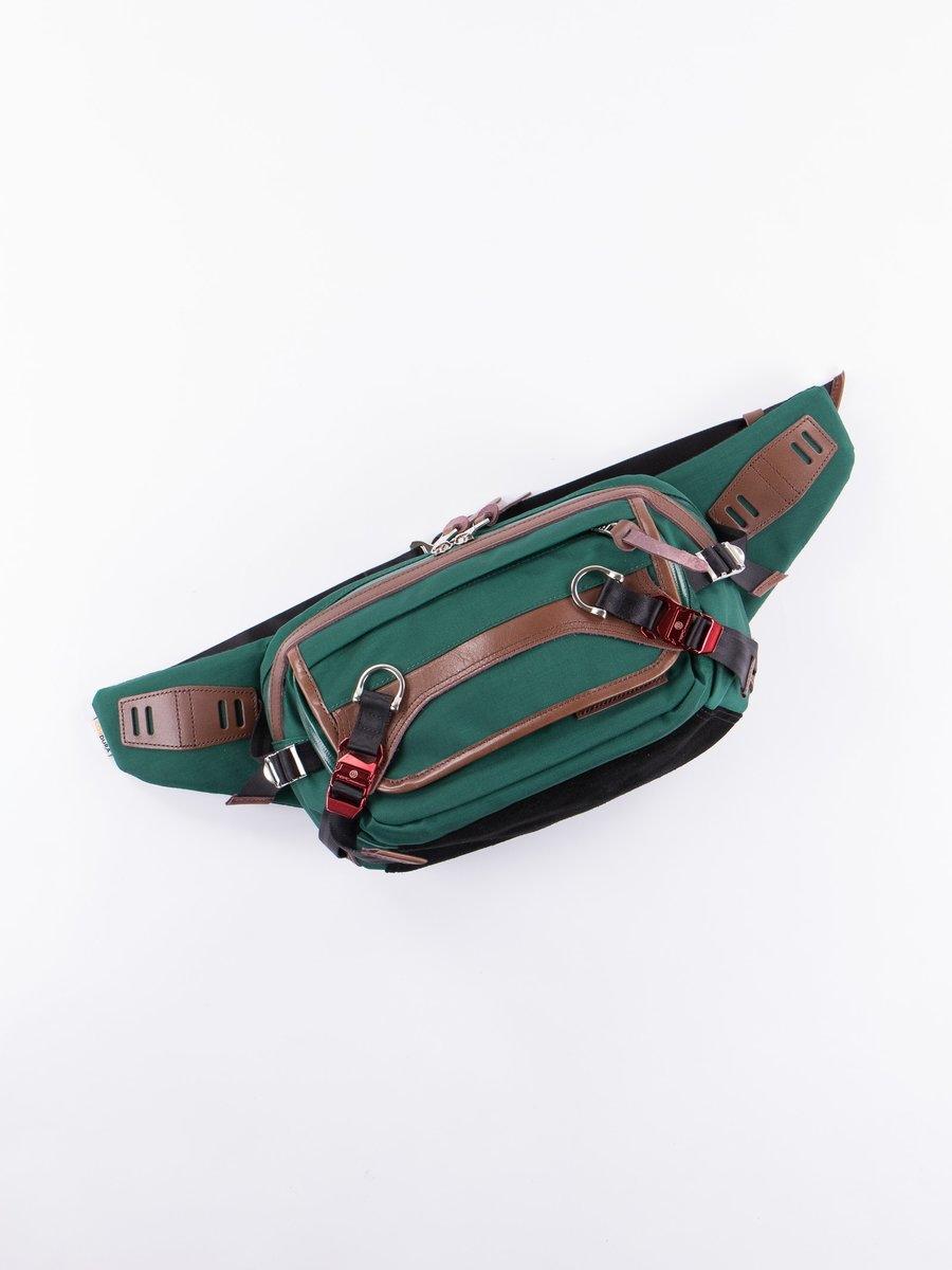Green Potential Shoulder Bag