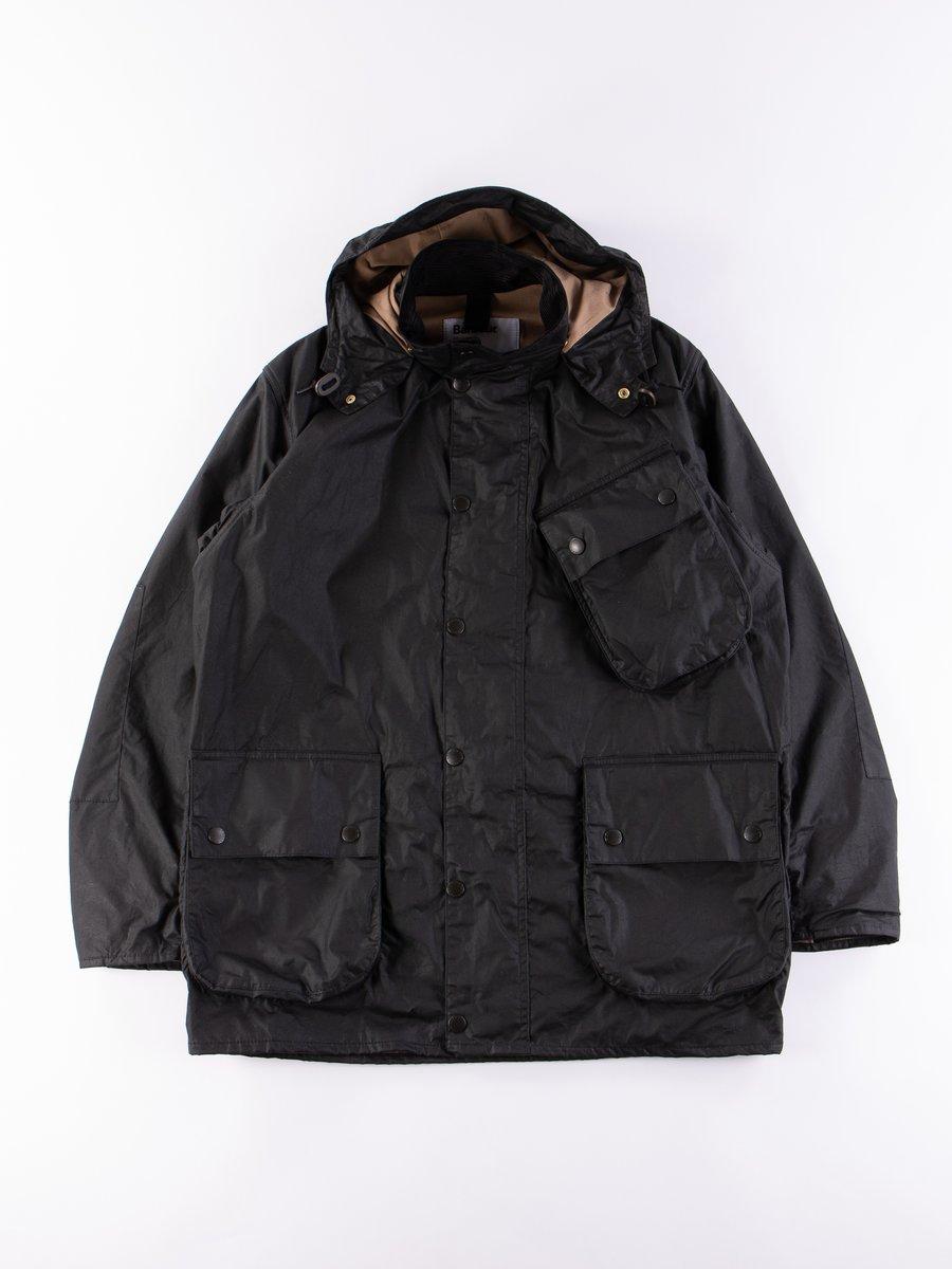 Black A7 Wax Jacket