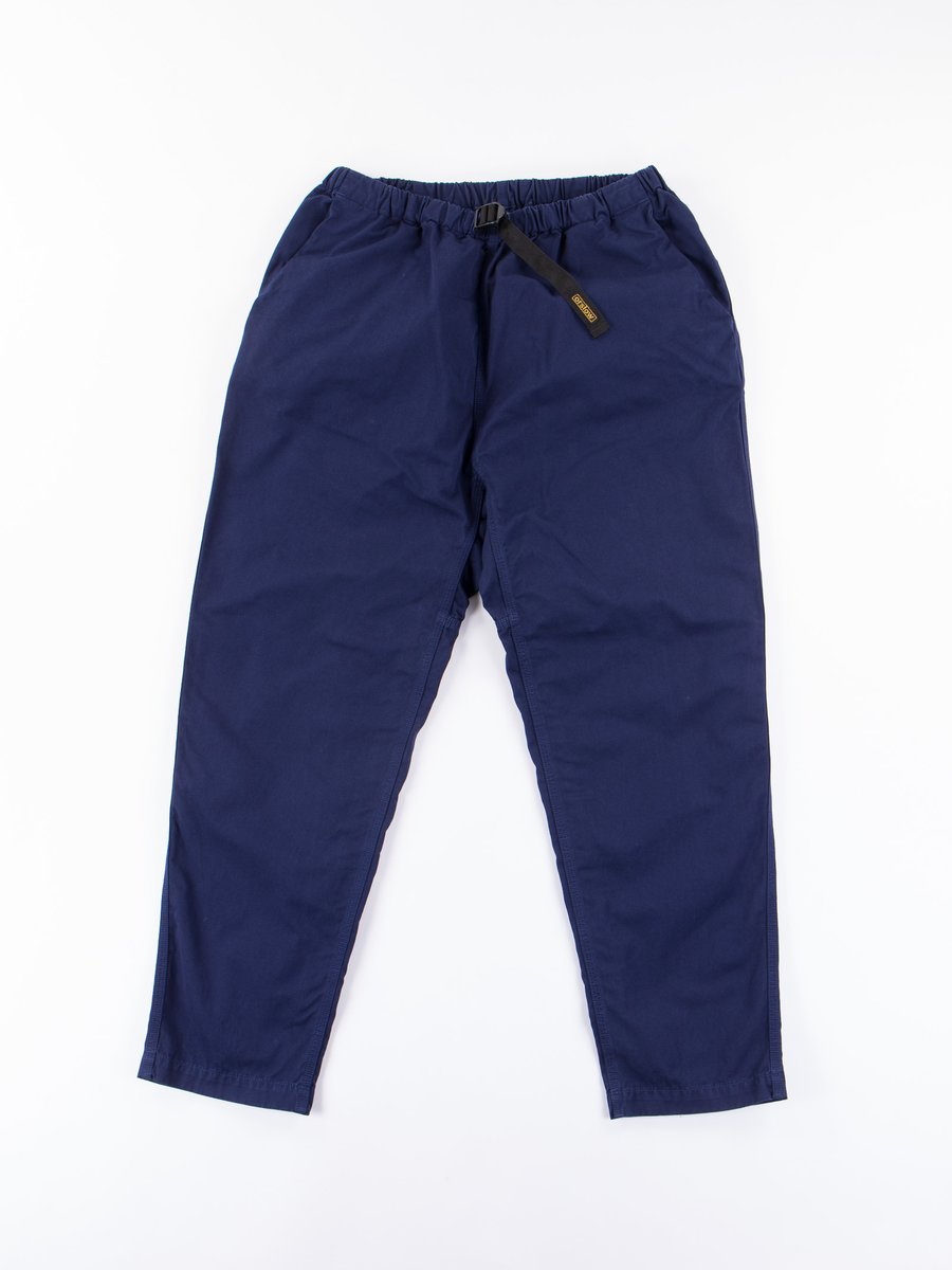 Ink Blue Overdyed Poplin Climbing Pant