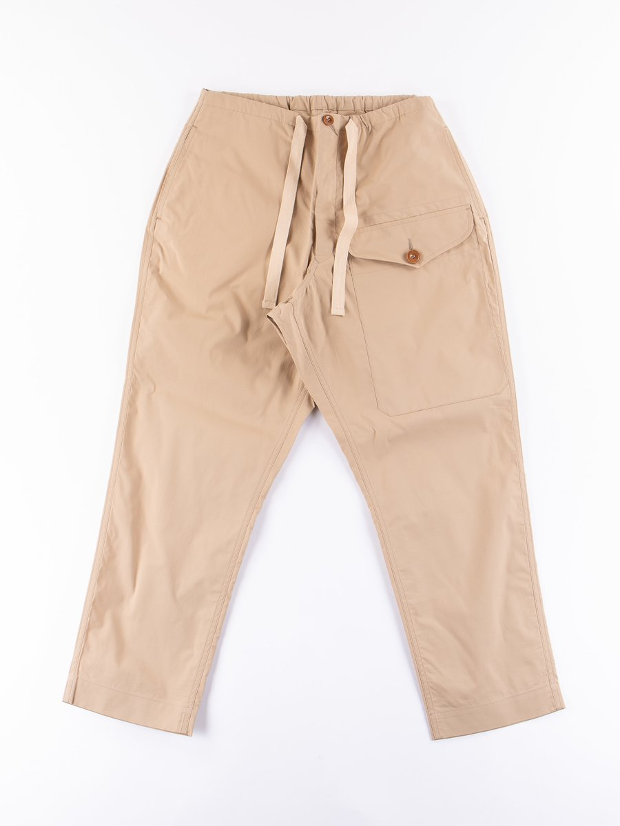 Beige High Density Military Pant