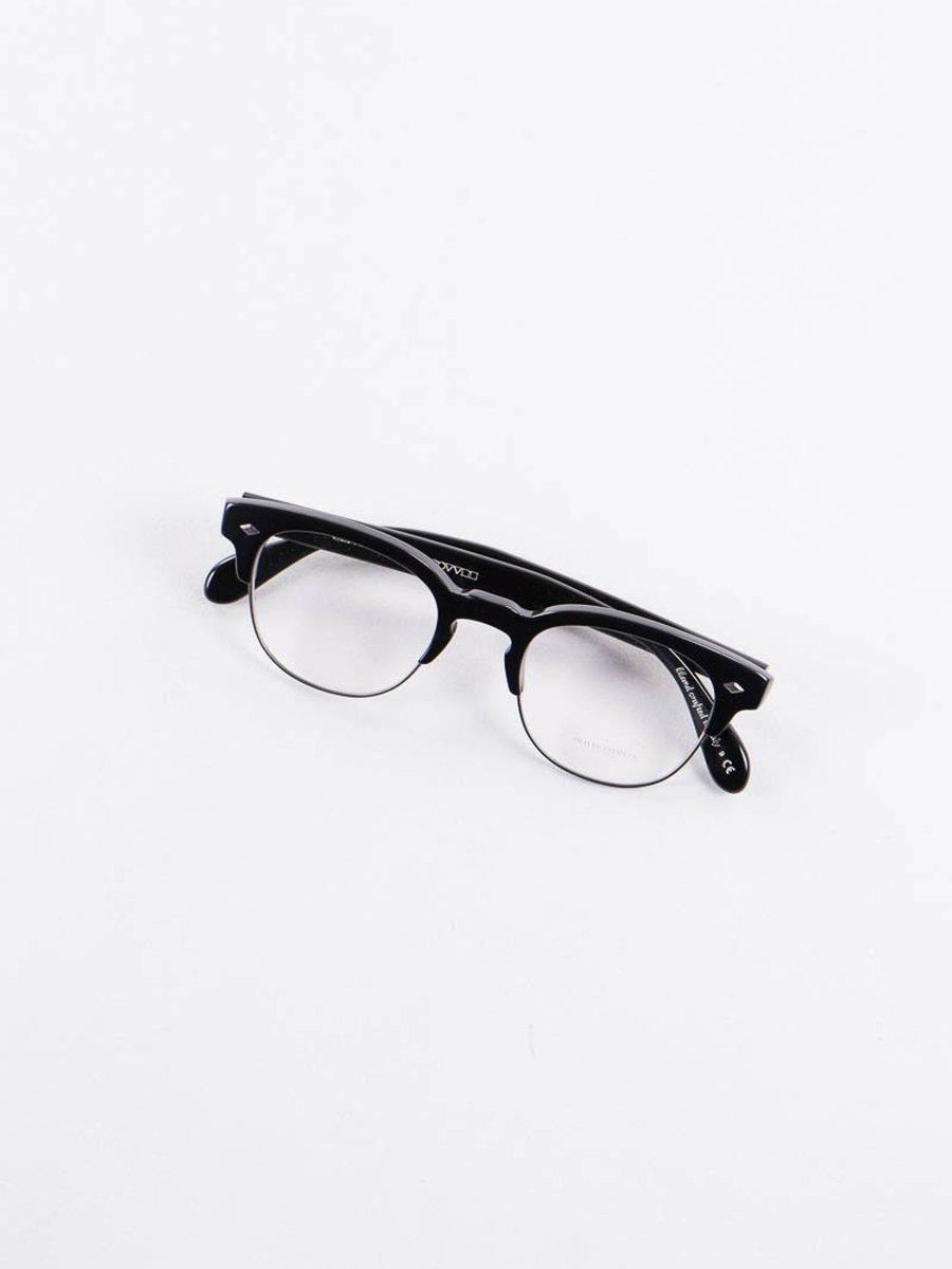 Black/Antique Pewter Hendon LA Optical Frame