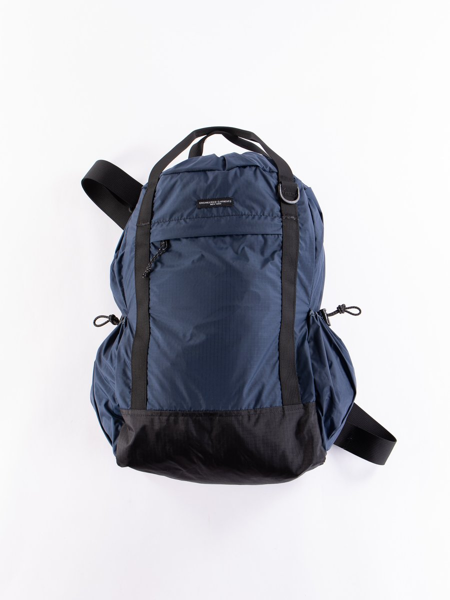 Navy Nylon Ripstop UL 3 Way Bag