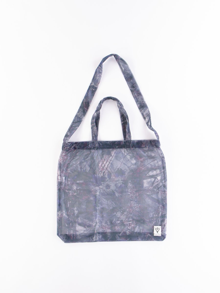 Camo Poly Mesh Grocery Bag