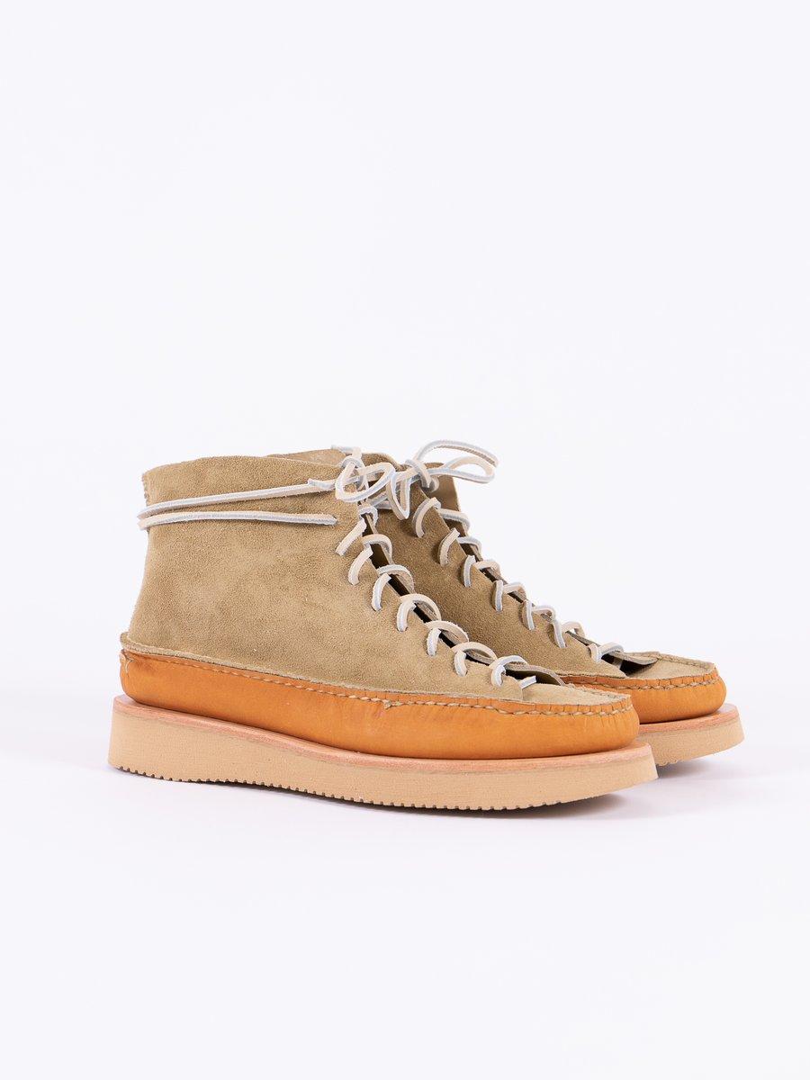 FO Khaki/Tan All Handsewn Sneaker Moc Hi Exclusive