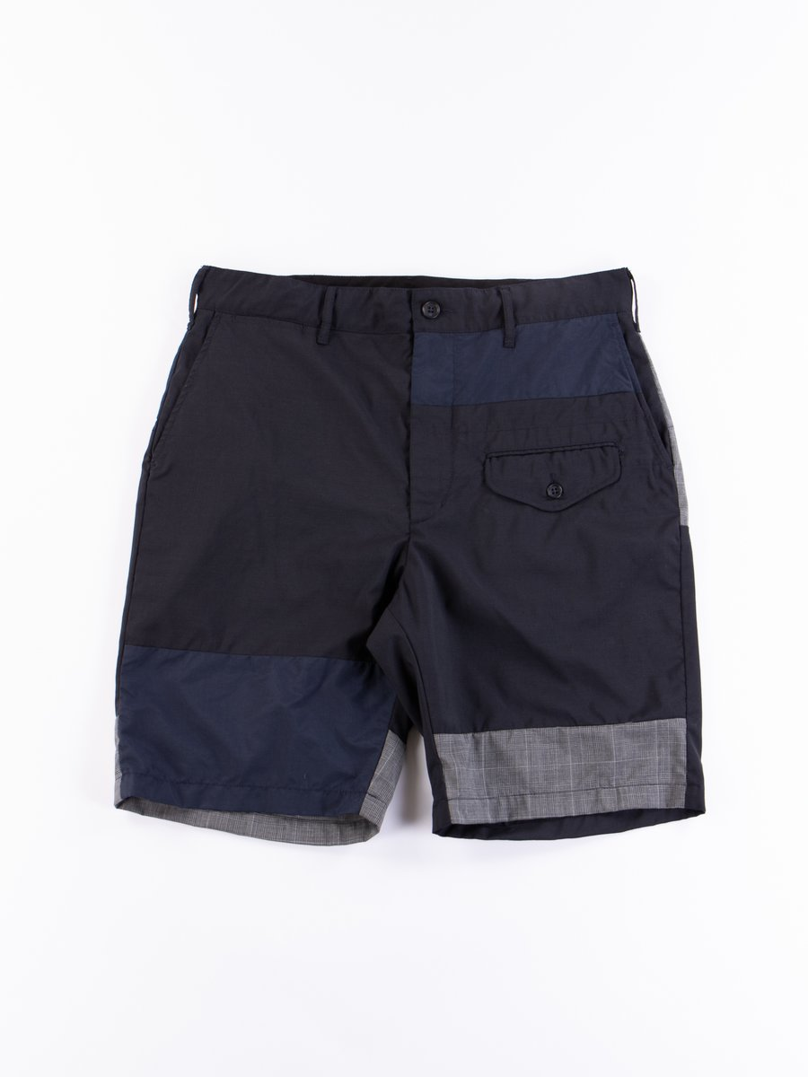 Dark Navy Tropical Wool Ghurka Short