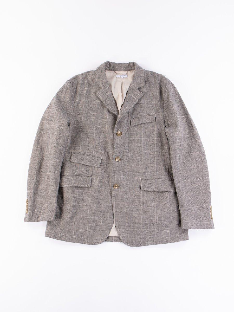 Grey CL Glen Plaid Andover Jacket