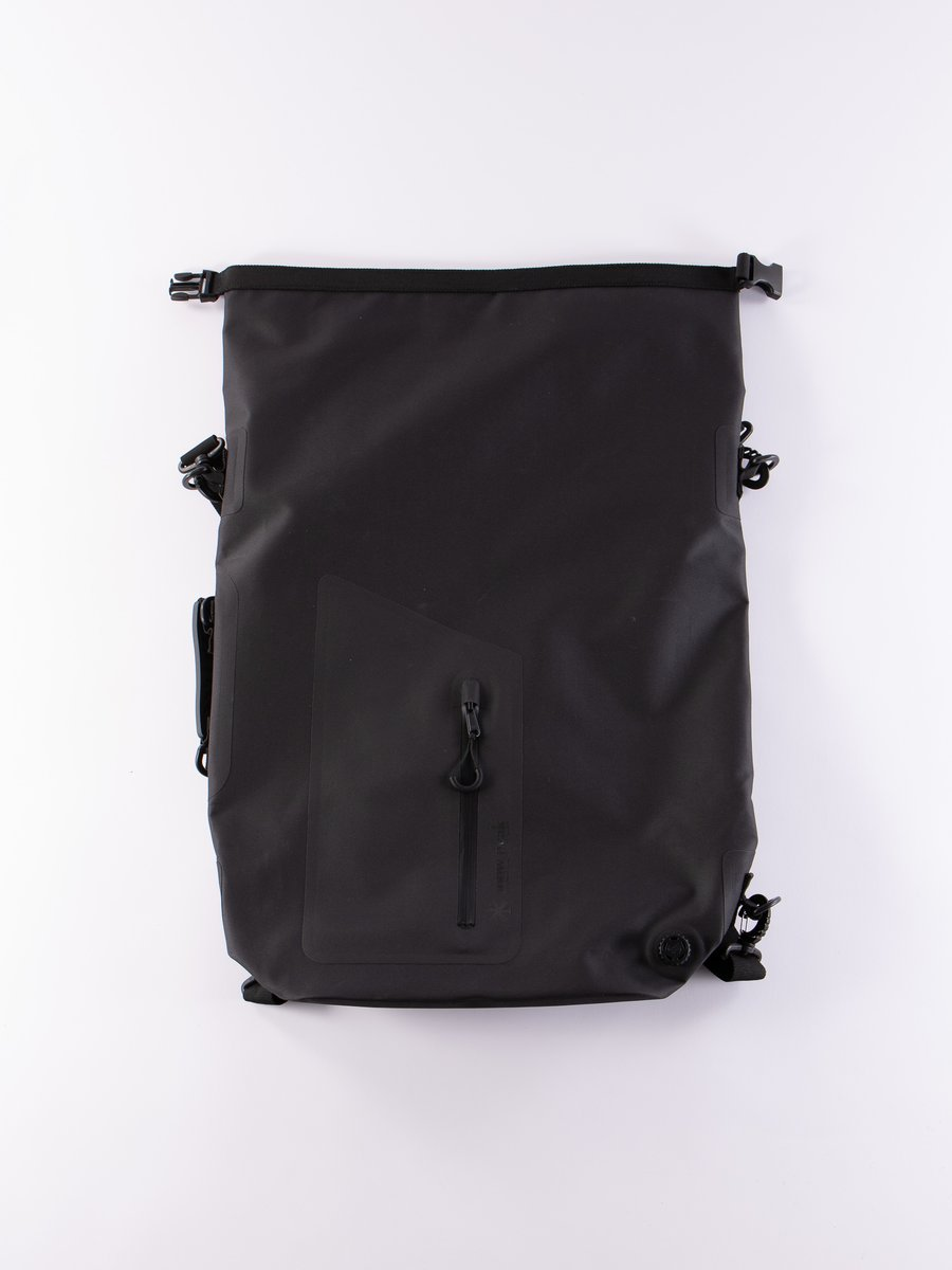 Black 4Way Medium Waterproof Dry Bag