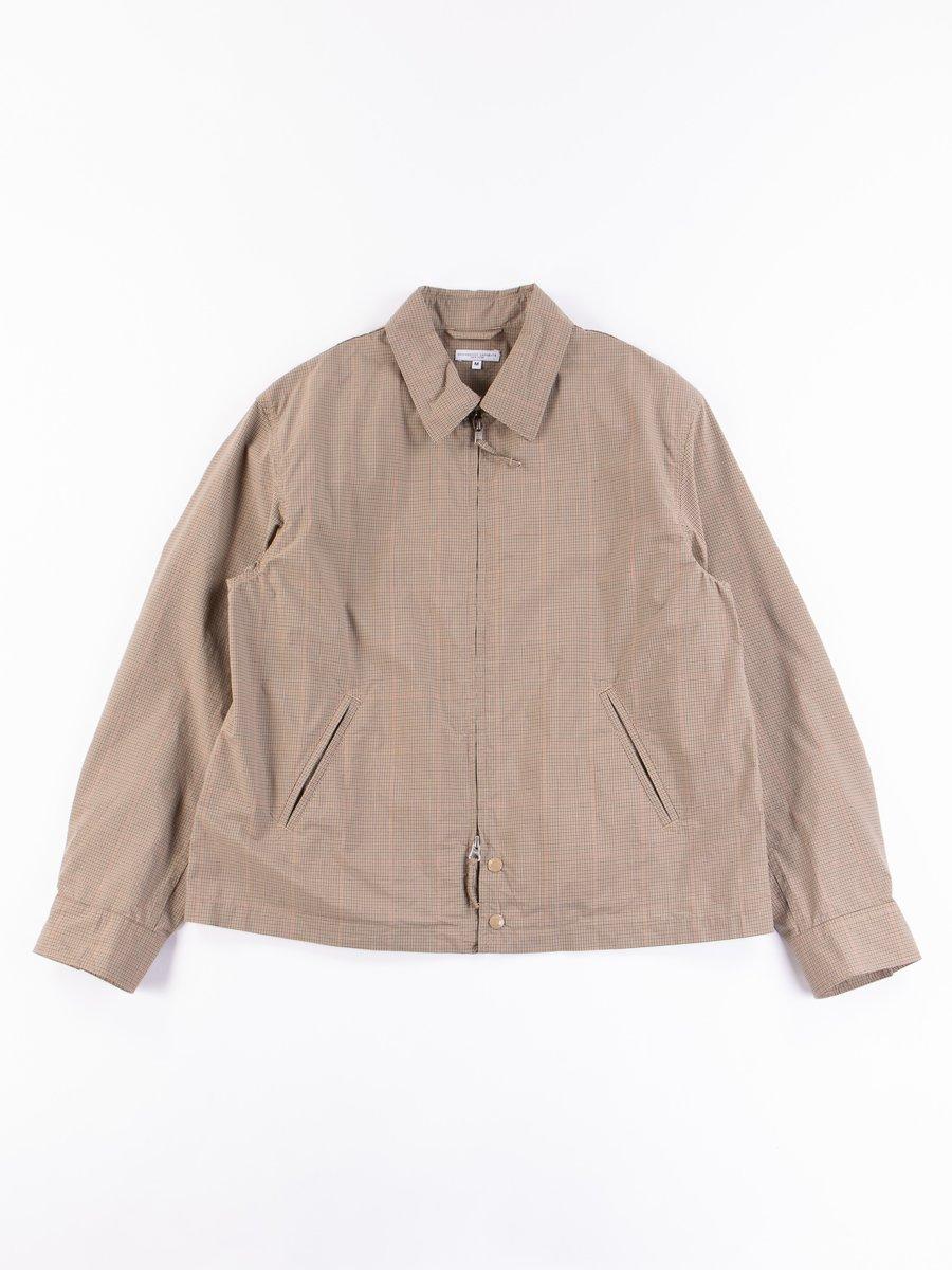 Khaki Nyco Mini Tattersall Claigton Jacket