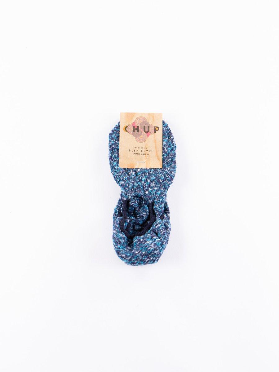 Blue Mix Zakko Trainer Socks