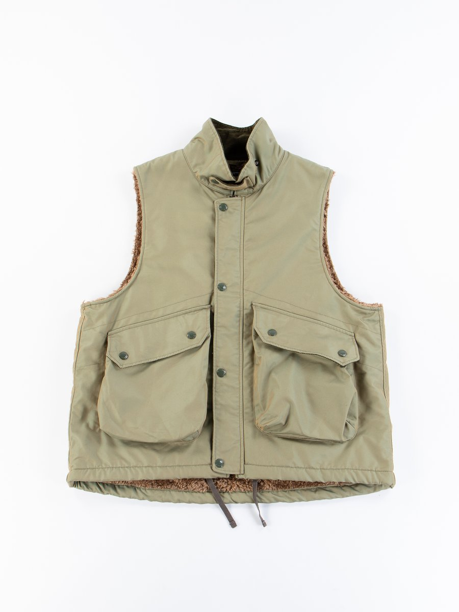 Olive PC Iridescent Twill Field Vest