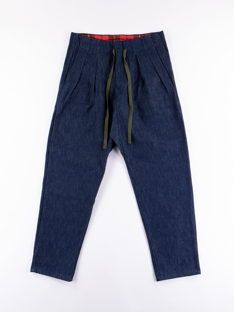 Indigo Cone Denim 14.25oz Drop Crotch Pants