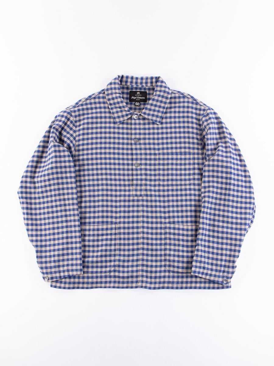 Blue Check Poh Deck Shirt