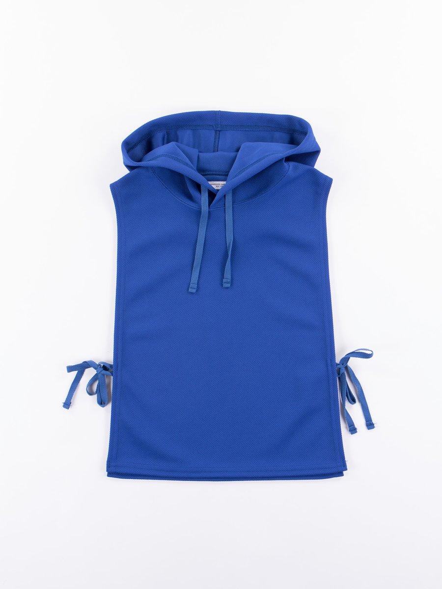 Royal Blue 7.75oz Diamond Knit Hooded Interliner