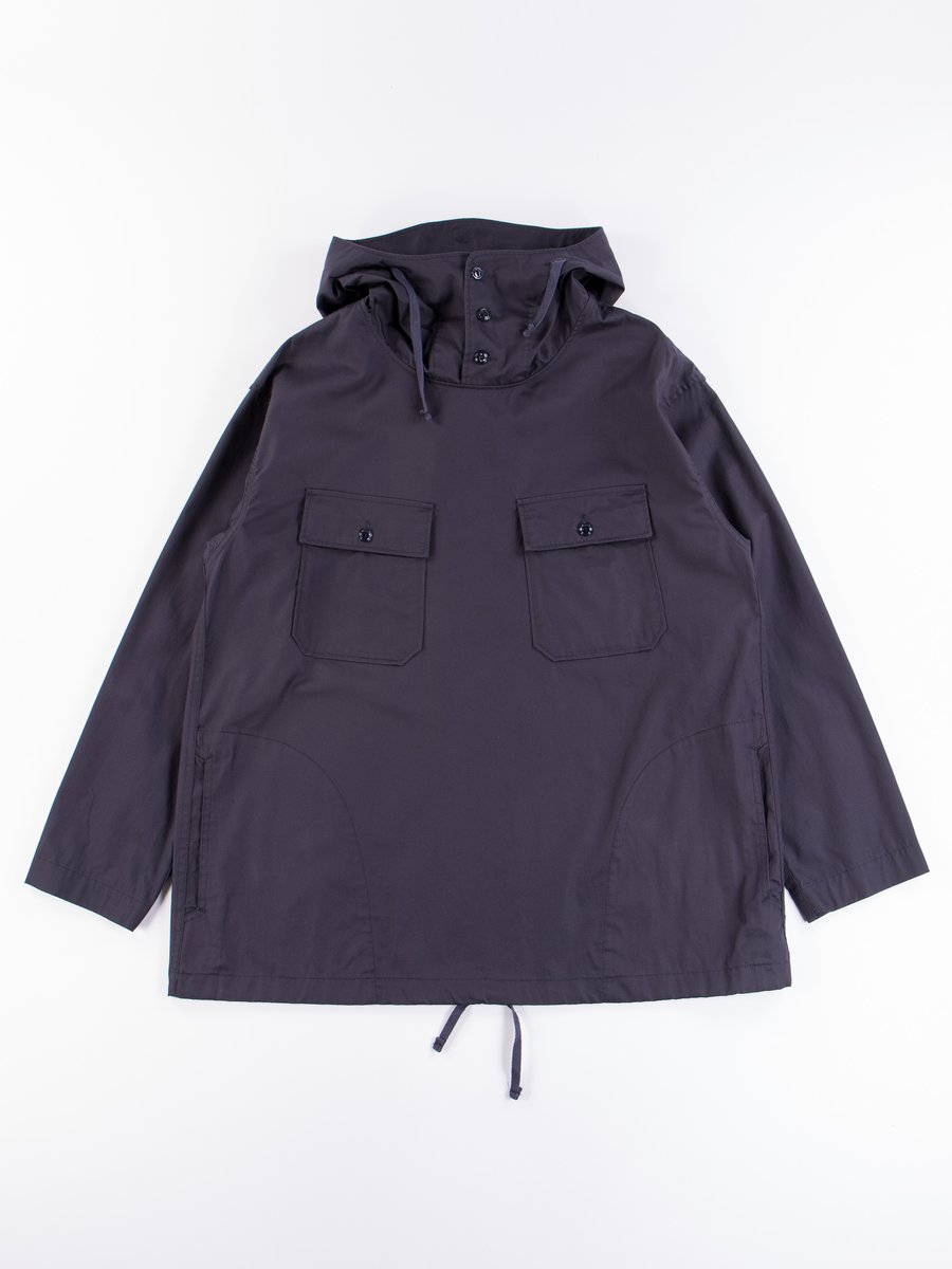 Dark Navy Highcount Twill Cagoule Shirt