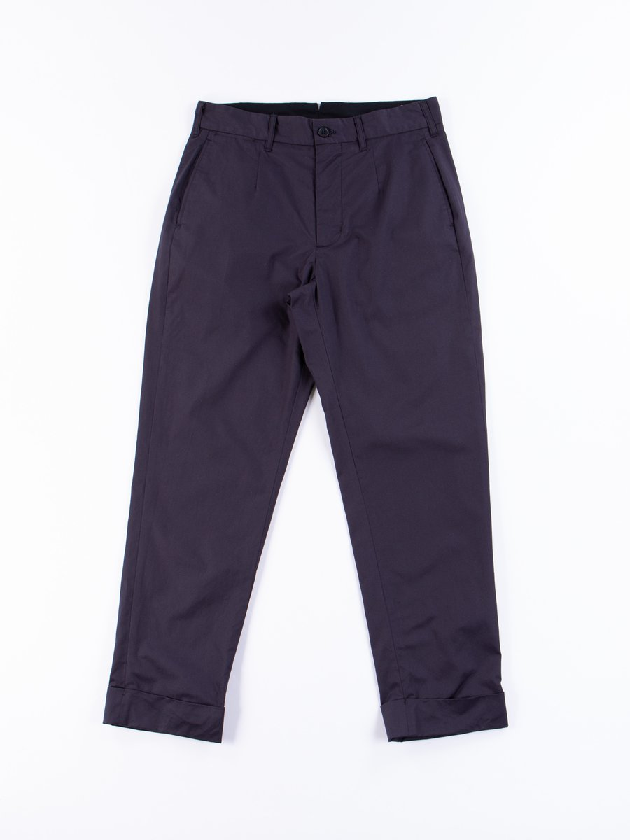 Dark Navy Highcount Twill Andover Pant