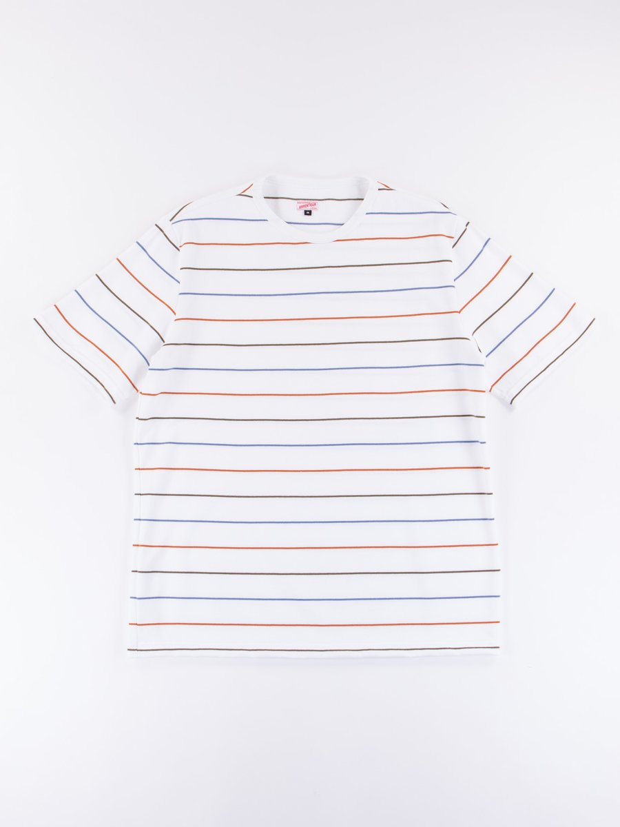 Blue/Olive/Orange Match Jersey T–Shirt