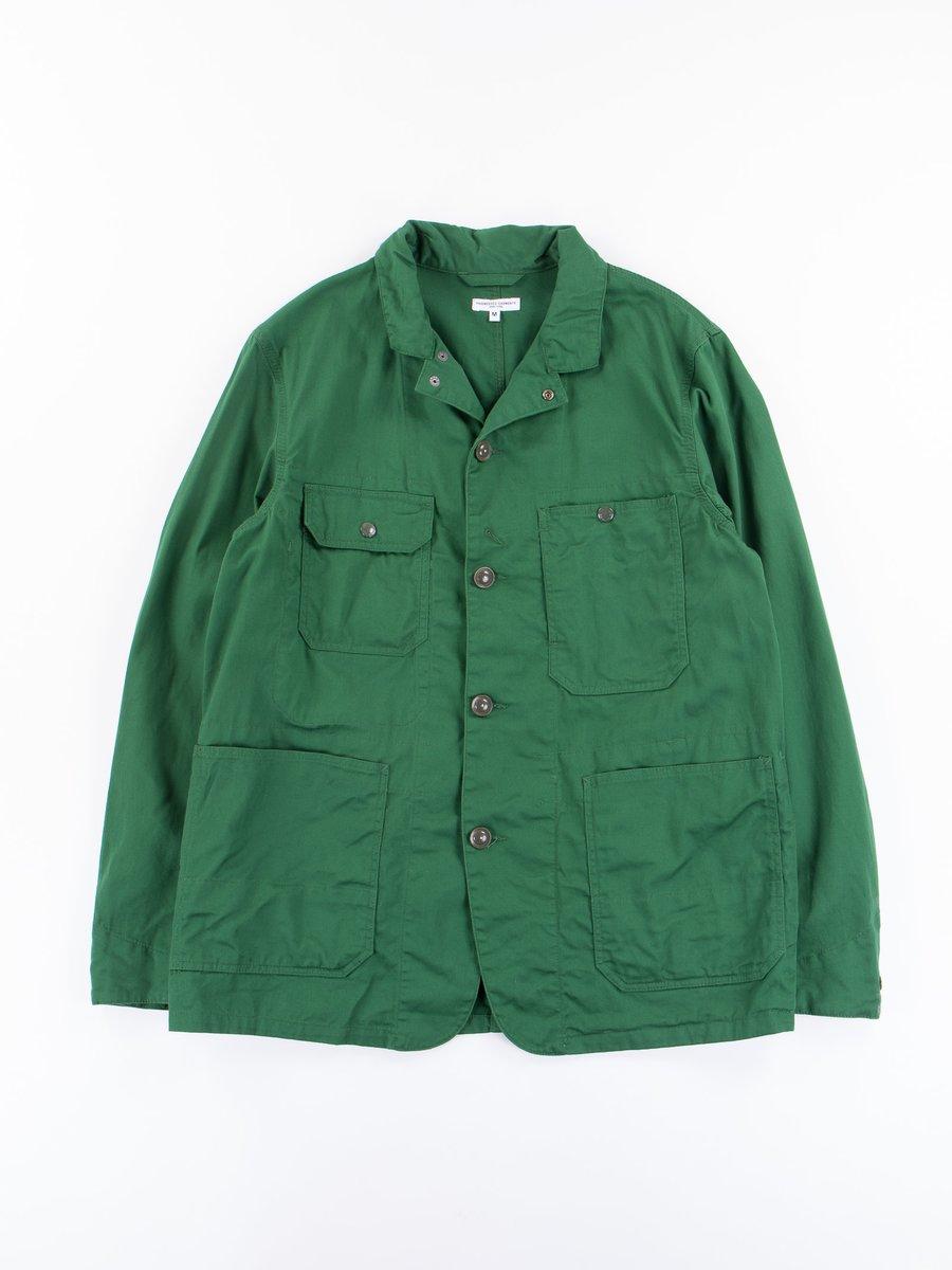 Green 7.5oz Twill Logger Jacket