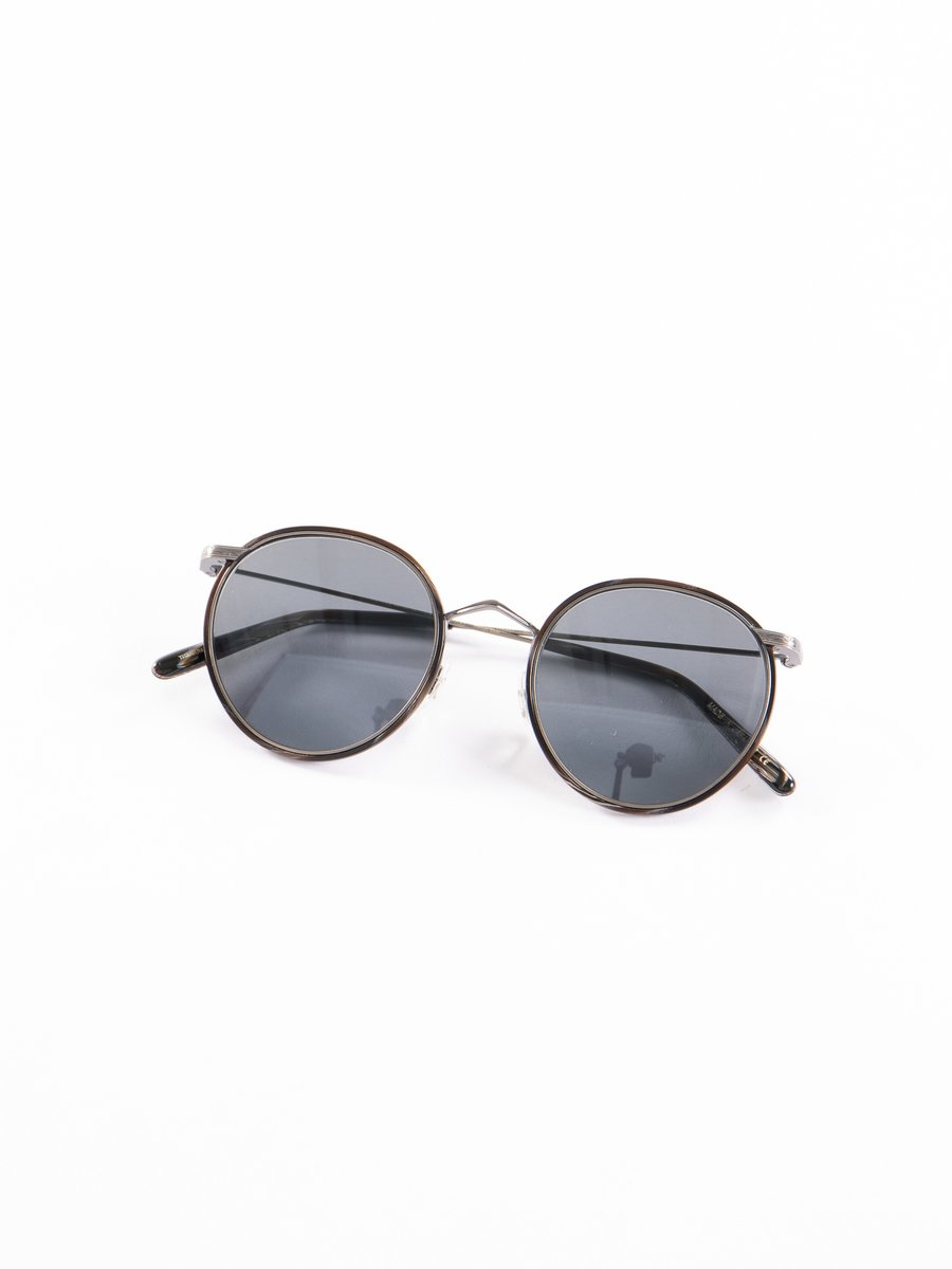 Pewter–Black Horn/Carbon Grey Casson Sunglasses