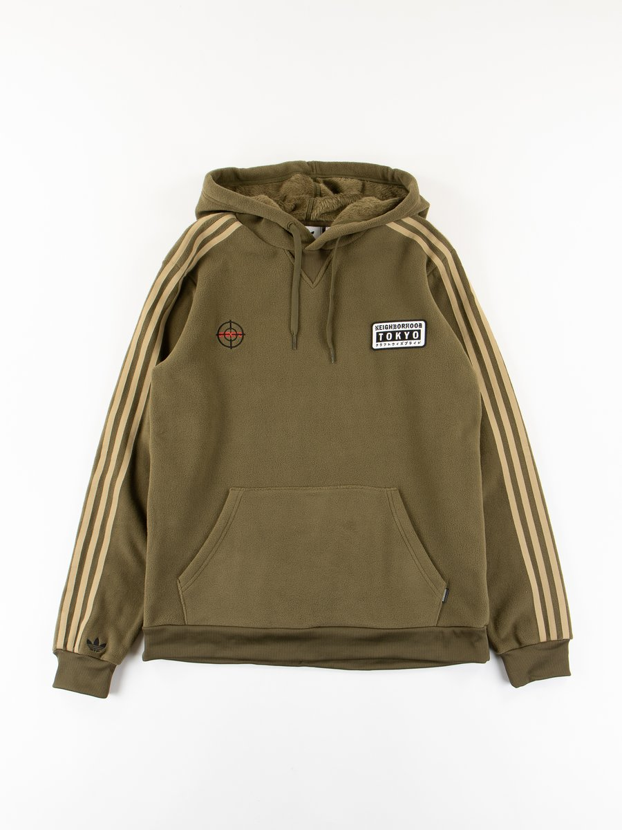 Olive Neighborhood Hoodie